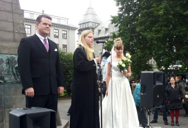 Mock Child Marriage In Iceland