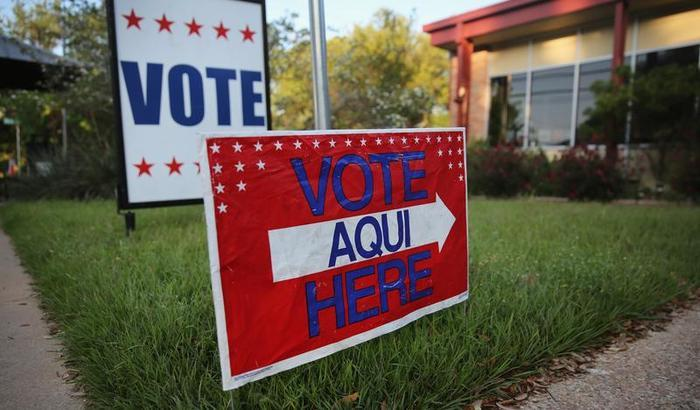 Texas voting 2013 Getty
