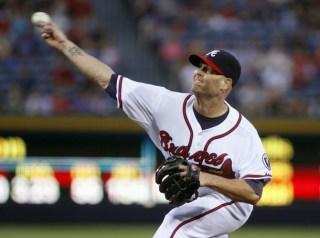 Braves Hudson Breaks Ankle In Win