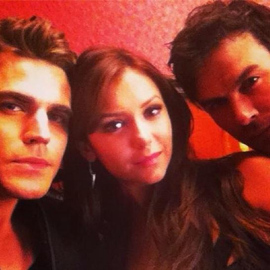 Somerhalder, Wesley And Dobrev
