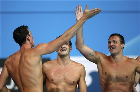 U.S. Win Fifth Straight 4x200 Freestyle Gold
