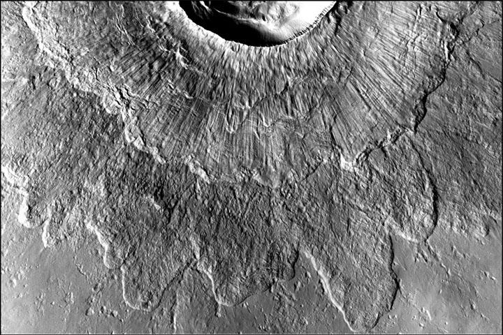 Double-Layered Ejecta Craters