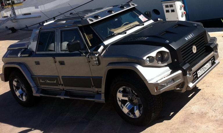 Kanye West Just Bought Two Of These Crazy Armored