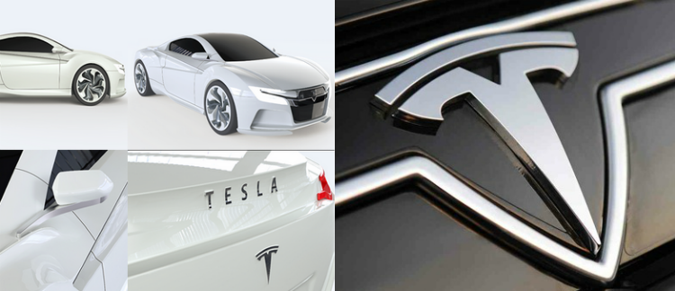 Tesla logos compared