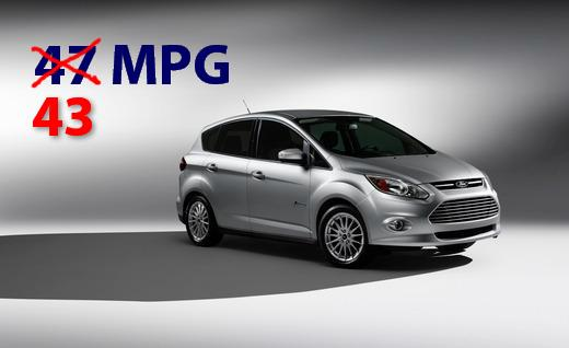 2013 Ford C-Max Fuel Economy Adjustment