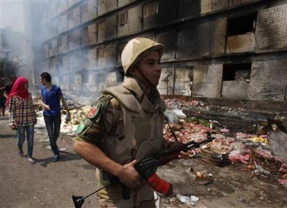 Egypt Death Toll Climbs To 640, Morsi Supporters Call For 'March Of Anger'