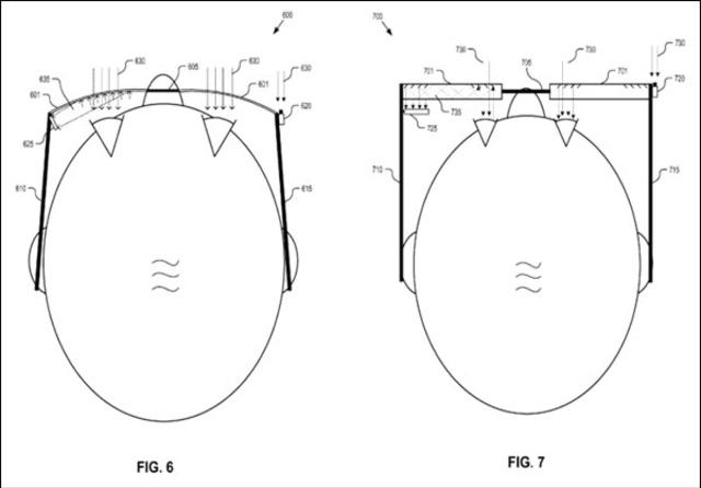 Google Glass Gaze Tracking System