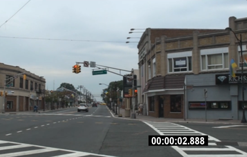 NJ Red Light Camera Intersection