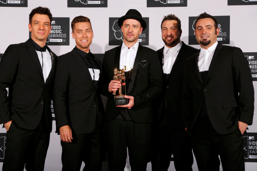 Justin Timberlake and NSync