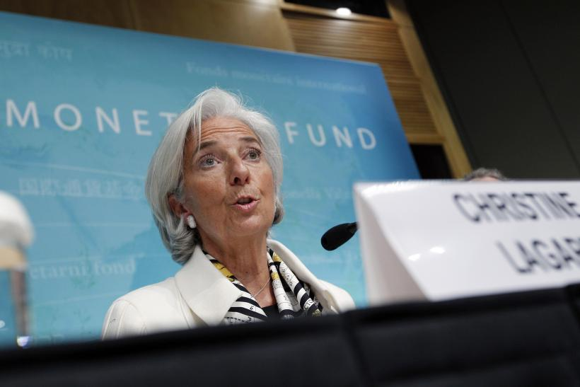Lagarde IMF July 2013