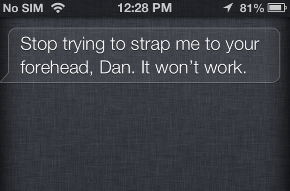 Apple's Siri Smacktalks Google Glass In New Update