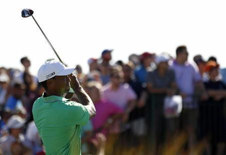 Tiger Woods Overcomes Back Spasm In Near Miss At The Barclays