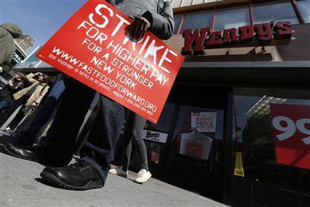Fast-Food Workers' Goal: Higher Wages
