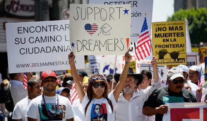 Immigration Rally Los Angeles May 2013 Getty image