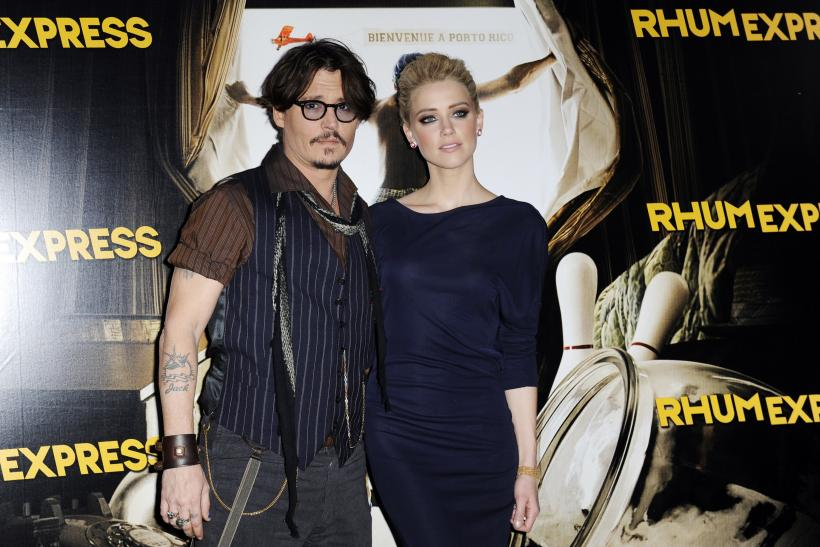 Amber Heard, Johnny Depp