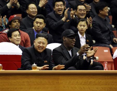 The Comeback: Dennis Rodman Returns To North Korea