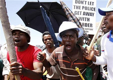 South African Gold Miners Go On Strike, Reject 'Slave Wages'