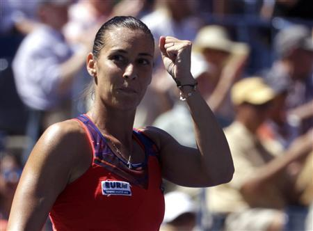 Underdog Pennetta Triumphs In All-Italian Quarter-Final