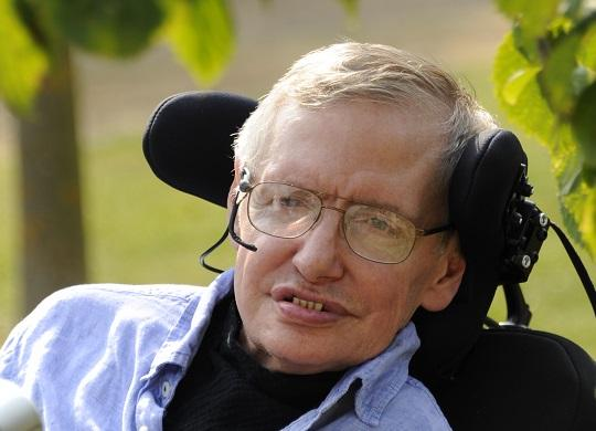 Stephen Hawking Author Photo