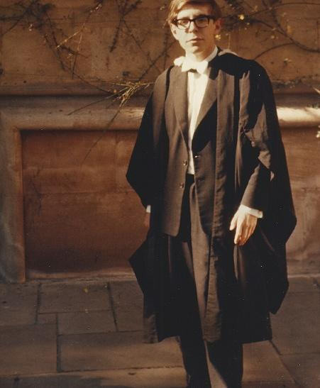 Stephen Hawking Graduation