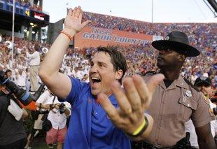 With Franklin Down, Freshman Faces Gators