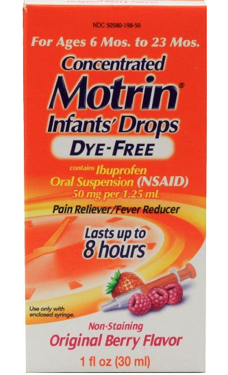 Motrin Infant Drops Recalled After Plastic Particles Found In 200,000 Products