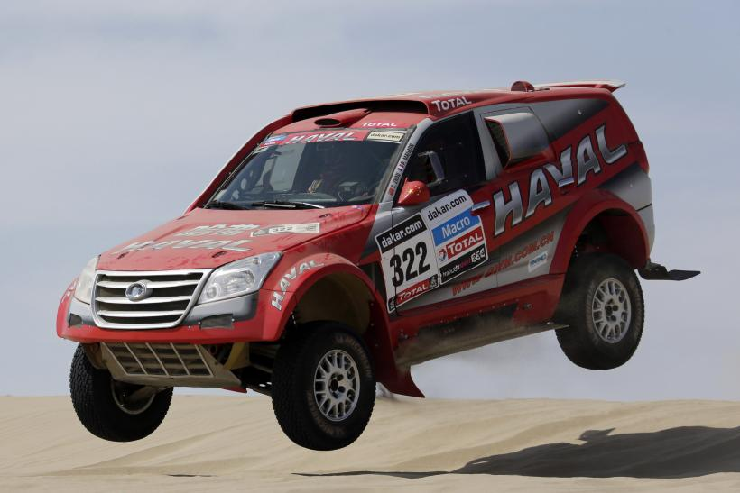 Great Wall Haval SUV in Dakar Rally