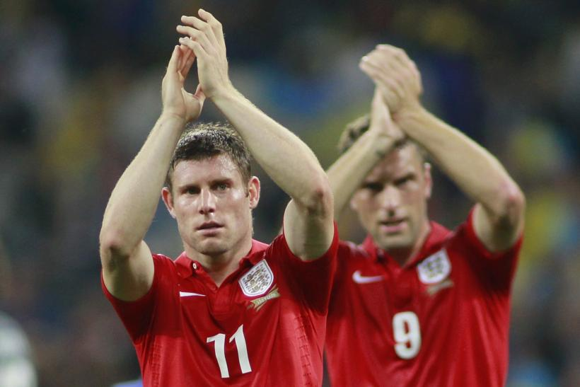 Rickie Lambert, James Milner
