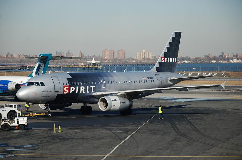 No. 2 Spirit Airlines (+2 percent)