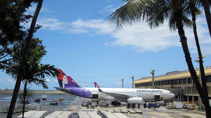 No. 3 Hawaiian Airlines