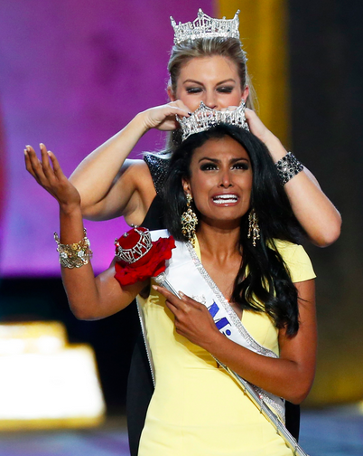 Miss New York Nina Davuluri Crowned Miss America 2014