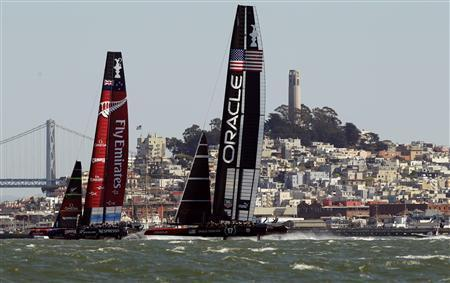 New Zealand And U.S. Boats Split Thrilling America's Cup Races