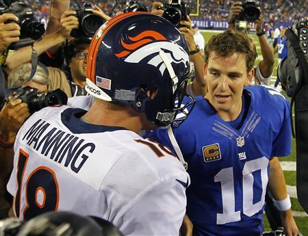 Big Brother Peyton In Control In 'Manning Bowl'