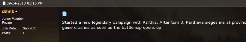Total War Rome 2 Patch 2 beta Comment