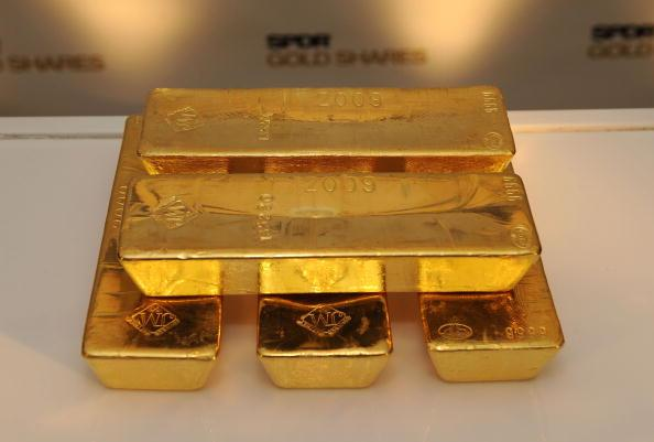 Gold Bars Getty Images