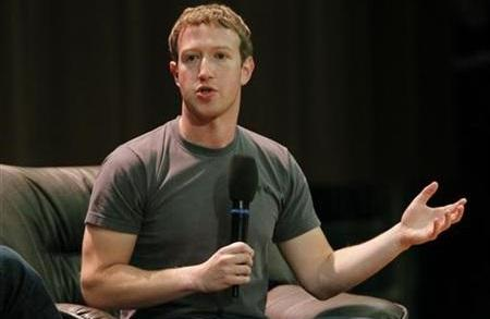 Facebook Zuckerberg 2012 2