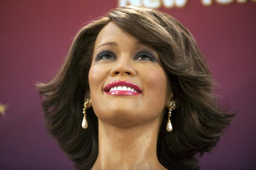 Whitney Houston_Wax Figure