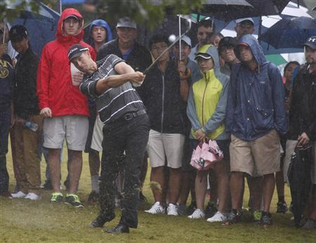 Stenson Stays Four Ahead At Wet East Lake