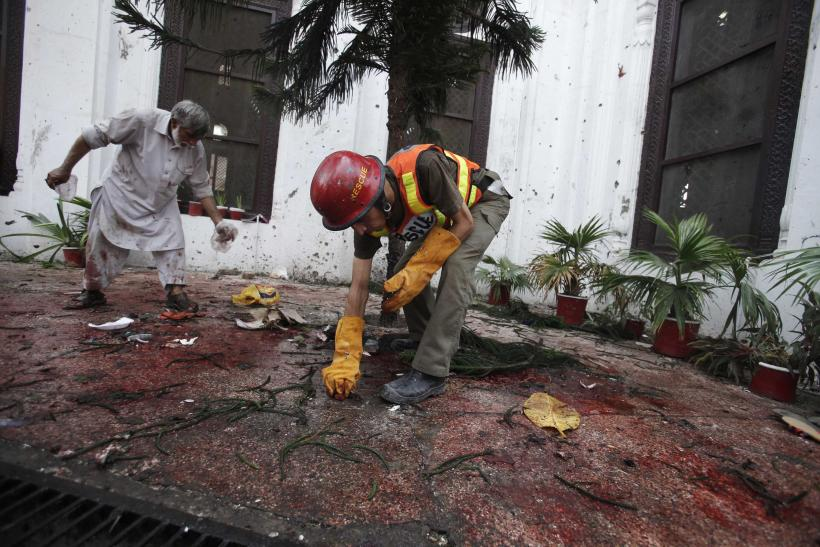 Pakistan church bombing