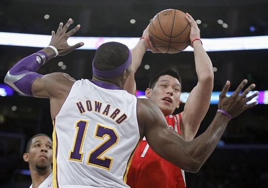 Dwight Howard Jeremy Lin