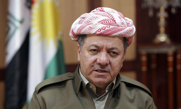 Kurdish Regional Government President Massoud Barzani