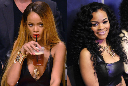 Rihanna Disses Teyana Taylor? Mocks Taylor's Singing On Instagram