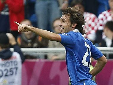 Crowded Blues Midfield Could Add Pirlo