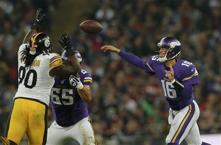 Vikings Conquer Steelers In NFL Wembley Game
