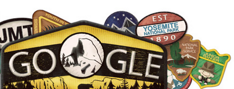 Google Doodle Yosemite National Park 123
