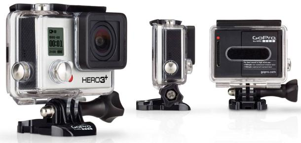 gopro hero 3 plus silver edtion