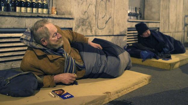 Homeless in Hungary