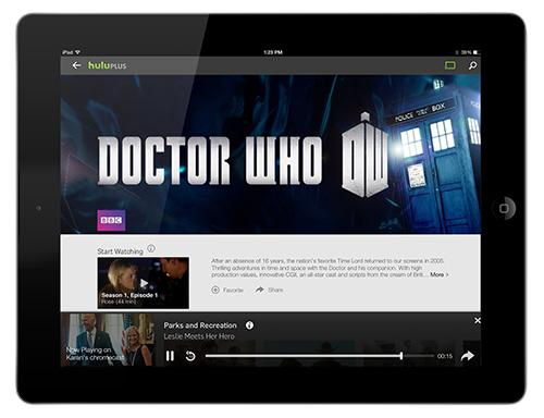 Chromecast Apple iPad Doctor Who BBC