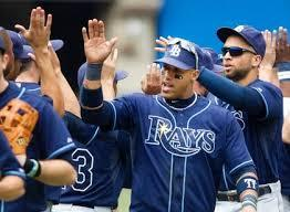 Rays And Indians Begin AL Playoffs