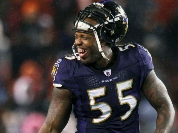 Terrell Suggs Baltimore Ravens